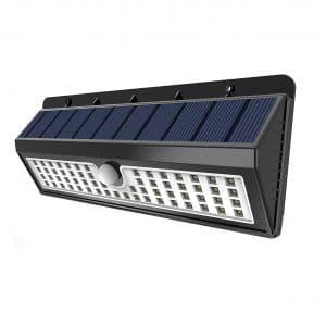 Lemontec Solar Lights with Motion Sensor (2 Packs)