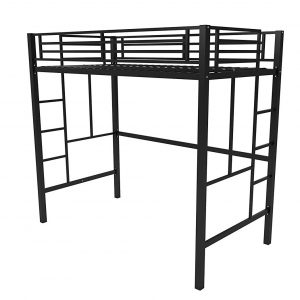 Your Zone Metal Loft Bed