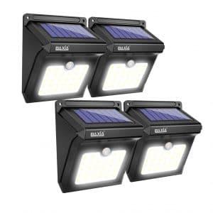 BAXIA TECHNOLOGY Outdoor Solar Lights (4 Packs)