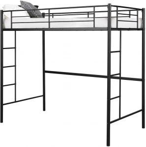 Costzon Twin Metal Loft Bed