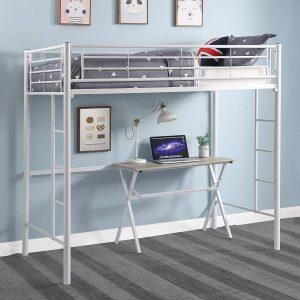 DCraft Berdine Metal Loft Bed