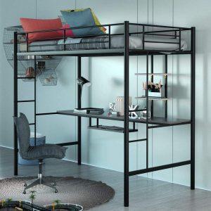 Giantex Metal Loft Bed