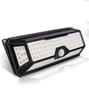 LECLSTAR Solar Motion Sensor Light for Outdoor Use