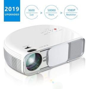 iBosi Cheng Video 720P LCD Mini Projector