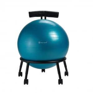 Gaiam Adjustable Custom Fit Balance Ball Chair