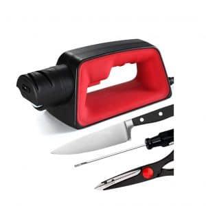 HELIME Electric Knife Sharpener 4 Slot Design