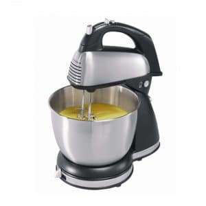 Hamilton Beach 64650 Stand Mixer, Stainless Steel