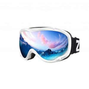Zionor Lagopus Ski Goggles with UV Protection for Men and Women