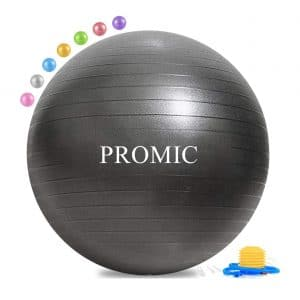 PROMIC Exercise Balance Ball Chair