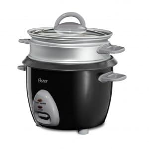 Oster 6-Cup Rice Cooker CKSTRCMS65 with Steam Tray