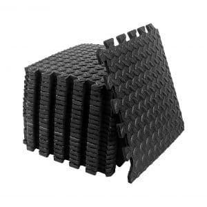 DSSPS 20PCS Puzzle Exercise Floor Mat EVA foam 20 SQ. FT