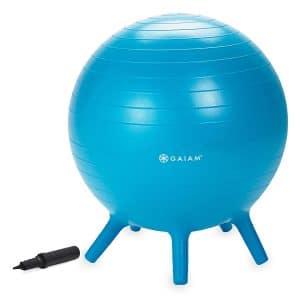 Gaiam Kid's Stay-N-Play Balance Ball Chair