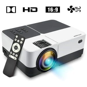 Wsiiroon LED Mini Projector