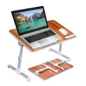 Neetto Adjustable Laptop Bed Table Stand