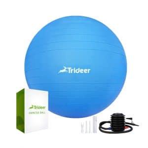 Trideer Exercise Ball Yoga Ball Balance Chair
