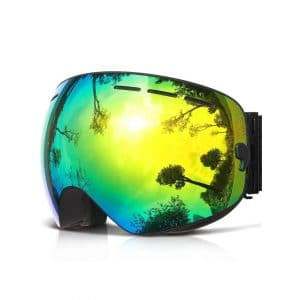 COPOZZ Ski Goggles, with an Anti-Fog Protection, for Boys & Girls