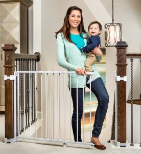 Regalo 2-In-1 Stairway and Hallway Baby Gate