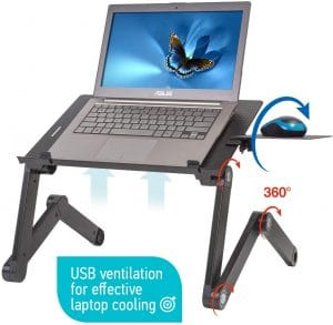 WonderWorker Portable Laptop Table Stand