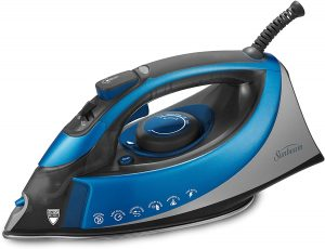 Sunbeam Turbo Steam 1500 Watt XL-size Anti-Drip Non-Stick Soleplate Iron with Shot of Steam Vertical Shot feature and 10' 360-degree Swivel Cord