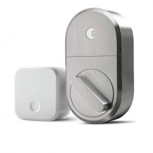 August Smart Lock Satin Nickel + Connect