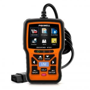 FOXWELL NT301 OBD2 Scanner Professional Enhanced OBDII Diagnostic Code Reader
