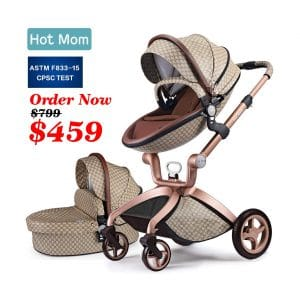 Hot Mom New Baby Stroller with Car Seat