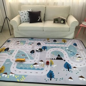 MAXYOYO Play Rug for Babies, 59 by 79 Inches