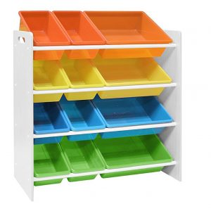 Pidoko Kids Toy Storage Organizer