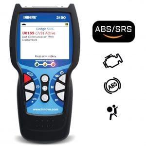 Innova 3100j CanOBD2 Diagnostic Tool & ABS Color Screen W:SRS & Oil Light Reset