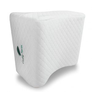 Cushy Form Knee Pillow – Best for Pregnancy with Washable Cover and Free Bag