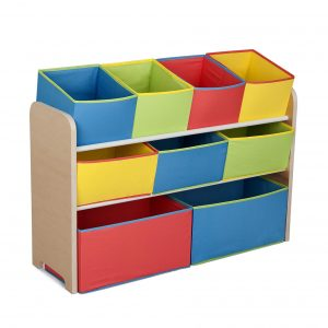 Delta Children Deluxe Multi-Bin Toy Organizer