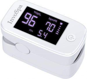 InvoSpa SpO2 Counter Body Finger Pulse Oximeter