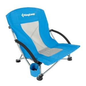 KingCamp Beach Camping Low-Sling Concert Folding Chair