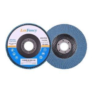 LotFancy 4.5-inches Flap Discs