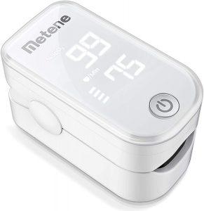 Metene Portable Pulse Oximeter Fingertip Monitor