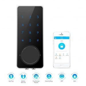 AKASO Smart Electronic Smart Door Lock Entrance Deadbolt