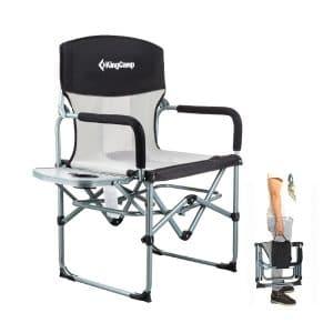KingCamp Heavy-Duty Camping Folding Compact Mesh Chair