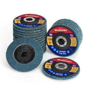"5 Pack 4.5"" x 7//8/"" Professional 60 Grit Zirconia Flap Disc Grinding Wheels T29"