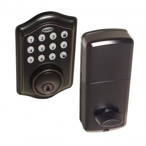 Honeywell Safes and 8712409 Electronic Door Locks Oil Rubbed Bronze