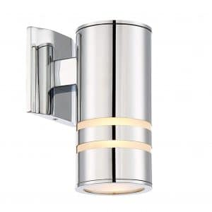 Kira Home Rockwell Modern Cylinder 8.5 inches Outdoor Light