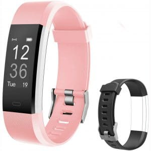 Letsfit Fitness Trackers HR, Activity Tracker Watch with Heart Rate Monitor
