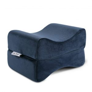 .LANGRIA Knee Pillow – Foldable & Antibacterial Design (Navy Blue)