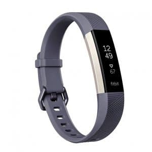 Fitbit Alta HR, Blue:Gray, Small (US Version)