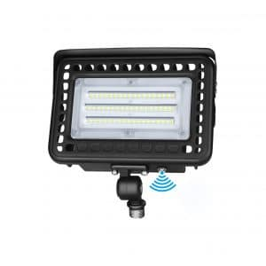 LEDMO LED Flood Light 60W IP65 Waterproof 180-Degrees