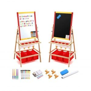 Magicfly Kids Art Easel with Paper Roll