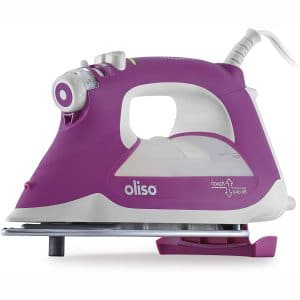 Oliso TG1100 Smart Iron with iTouch Technology 1800 Watts Orchid (10001044)