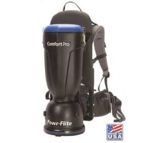 Powr-Flite Comfort Backpack Vacuum