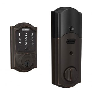 Schlage Connect Smart Zigbee Certified Deadbolt with Camelot trim