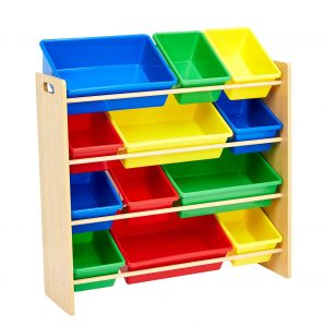 .AmazonBasics Kids' Toy Storage Organizer