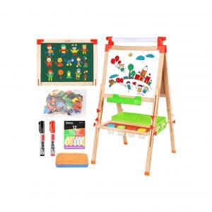 BATTOP Easel 3 In 1 Double-Sided Easel for Kid